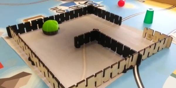 labyrinthe pour robots