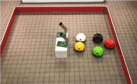 Apprentissage supervisé, course de robots